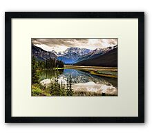 Along the Icefield Parkway, Jasper NP Framed Print