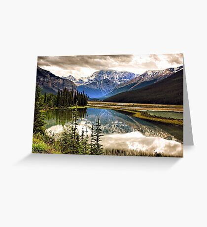 Along the Icefield Parkway, Jasper NP Greeting Card