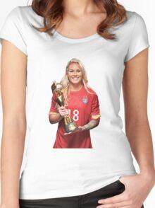 Ashlyn Harris - World Cup Women's Fitted Scoop T-Shirt