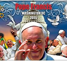 Pope Francis 2015 Wash DC Visit-Capitol building background by Celebrating Designs