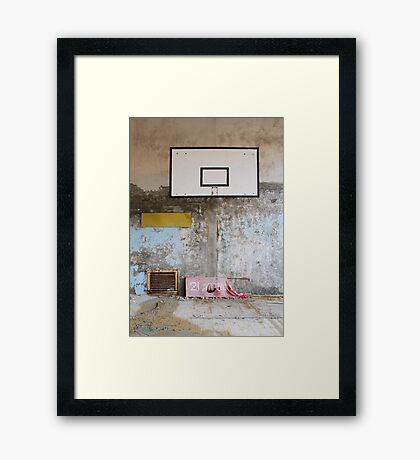 Sports Hall Framed Print