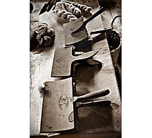 Wool Combs at Old World Wisconsin Photographic Print