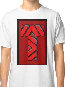 The Alphabet  The letter T Classic T-Shirt