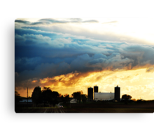 Calm, After the Storm Canvas Print