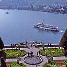 Formal garden, Villa Carlotta, Lake Como, Italy by johnrf