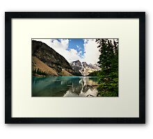 Moraine Lake, Banff National Park Framed Print