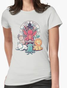 Game Of Toys Womens Fitted T-Shirt