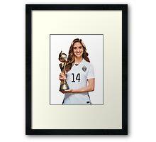 Morgan Brian - World Cup Framed Print