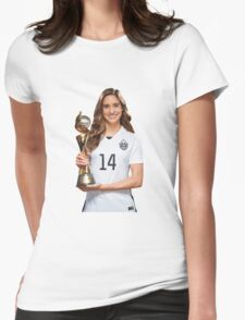 Morgan Brian - World Cup Womens Fitted T-Shirt