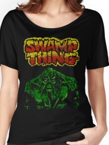 Swamp Thing T-shirt Women's Relaxed Fit T-Shirt