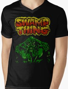 Swamp Thing T-shirt Mens V-Neck T-Shirt
