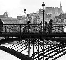 Pont des Arts by Virginia Kelser Jones