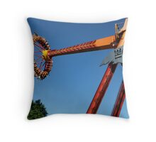 WILD RIDE (THE CLAW) Throw Pillow