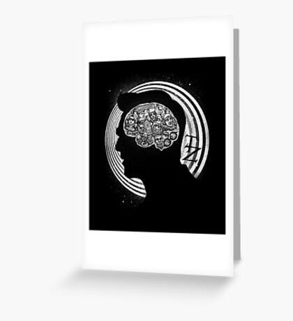 A Dimension of Mind Greeting Card