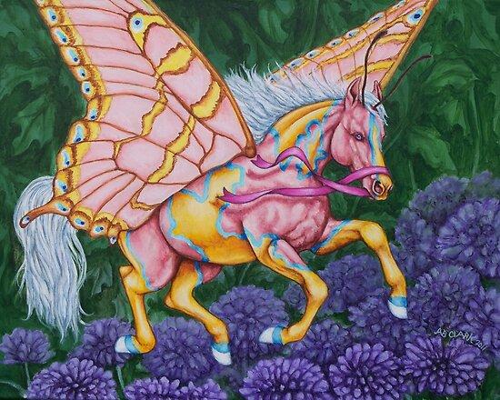 "Faery Horse ""Hope"" by Beth Clark-McDonal"