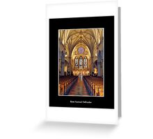 St. Joseph's Cathedral - front of Cathedral Greeting Card