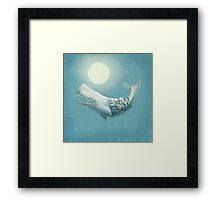 Far and Wide (night option) Framed Print
