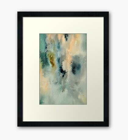Another Watercolor Mix Framed Print