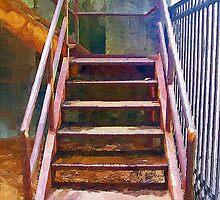 Escaliers Allie' by suzannem73