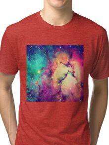 BrIght Colorful Galaxy Tri-blend T-Shirt