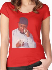 Biz Markie Women's Fitted Scoop T-Shirt