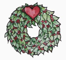 Yule christmas wreath Kids Clothes