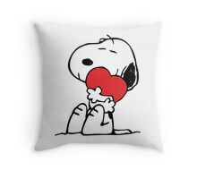 Snoopy - Peanuts Throw Pillow