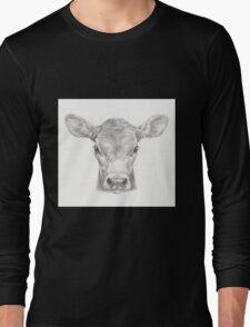 Cute calf - Little Moo Long Sleeve T-Shirt