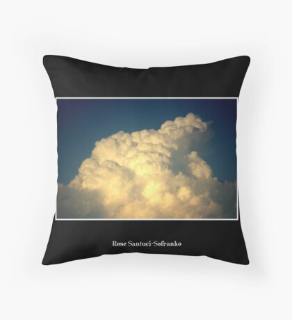 Clouds #5 Throw Pillow
