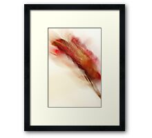 Floral Abstract II - JUSTART ©  Framed Print
