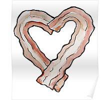 Bacon love Poster