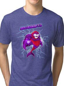 Beluganeto #MarvelWhales Tri-blend T-Shirt
