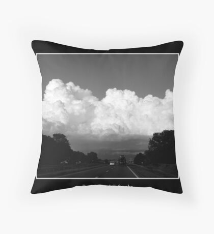 Cloud #8 Throw Pillow