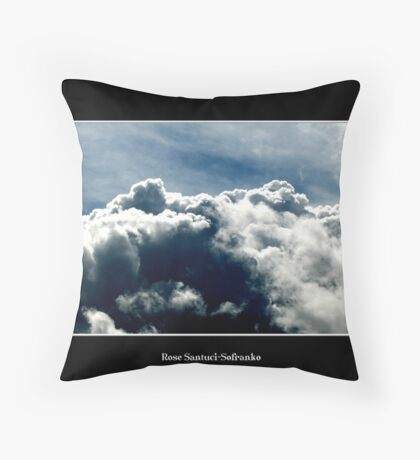 Cloud #10 Throw Pillow