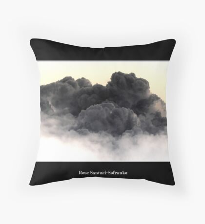Cloud #12 Throw Pillow