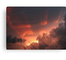 Approaching Storm VI Canvas Print