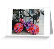 Colorful Bike Greeting Card