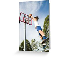 Baller boy Greeting Card