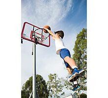 Baller boy Photographic Print