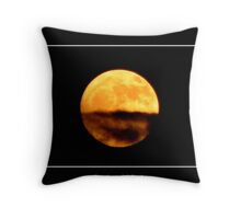 The Moon #1 Throw Pillow