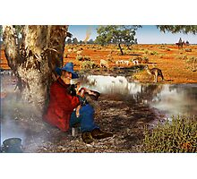 Waltzing Matilda Without the Words Photographic Print