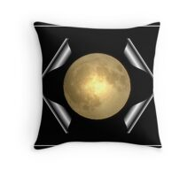 Full Moon #6 Throw Pillow