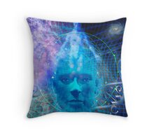 Devine Matrix Throw Pillow