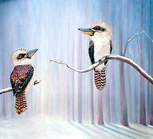 Kookaburra Connection  by © Linda Callaghan