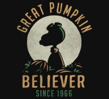 Great Pumpkin Believer by AJ Paglia