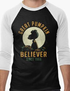 Great Pumpkin Believer Men's Baseball ¾ T-Shirt