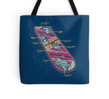 Hover Board Anatomy Tote Bag