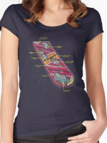Hover Board Anatomy Women's Fitted Scoop T-Shirt