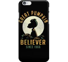 Great Pumpkin Believer iPhone Case/Skin