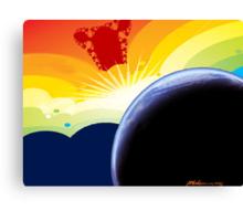 """Betelgeuse Visiting"" Canvas Print"